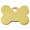 Brass Bone Dog ID Tags