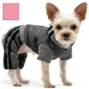 Hooded Dog Tracksuit | Pink or Gray
