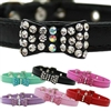Bowdacious Bling Rhinestone Dog Collars