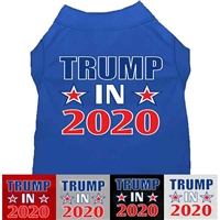 Trump in 2020 Dog Shirt