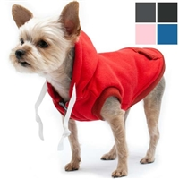 Sweatshirt Dog Hoodies | Pink or Gray