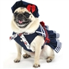 Little Red, White and Blue Sailor Dog Dress