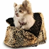 Faux Fur Pet Carrier | Snow Lynx