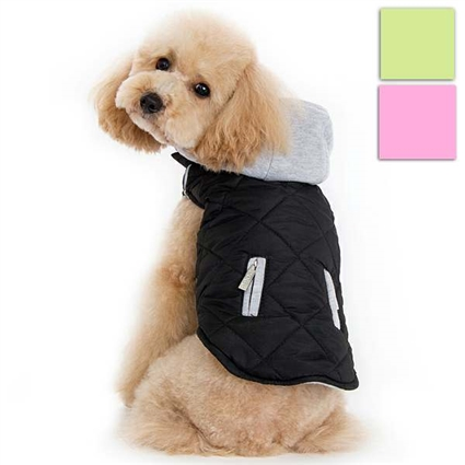 City Puffer Designer Dog Coat Jacket