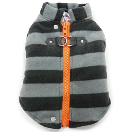 Active Fleece Dog Coat with D-Ring