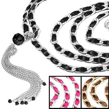 Best in Show Designer Chain Dog Leash