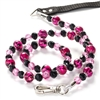 Designer Dog Leash | Pink Animal Print