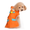 Orange Monster Dog Raincoat Rain Coat