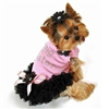 Pretty in Pink Ruffles Small Dog Dress