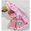 Apple Of My Eye Small Dog Harness Dress Set