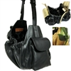 Leather Sling Designer Dog Purse Carrier