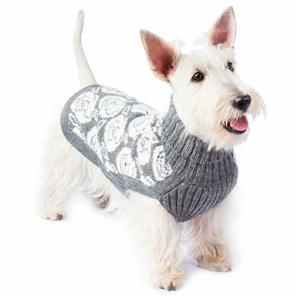 I Love Roses Alpaca Dog Sweater