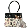 Postage Stamp Monaco Dog Cat Tote Carrier