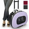 Tough-Shell Wheeled Dog Cat Carrier