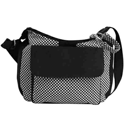 CheckerBarc Canvas Dog Sling Carrier