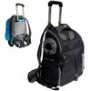 Duffle Backpack Dog Cat Carrier with Wheels