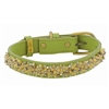 Jade and Jasper Leather Dog Collar