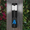 Dog Poop Bag Dispenser Station with Solar LED Light