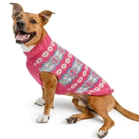 Alpaca Rose Dog Sweater