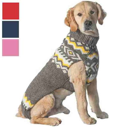 Nordic Design Dog Sweater | Organic Wool
