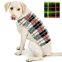 Tartan Plaid Dog Sweater