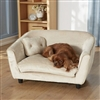 Plush Sofa Dog Bed | Oyster