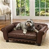 Faux-Leather Dog Sofa Bed | Brisbane