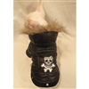 Tough Guy Skull Small Dog Jacket Coat