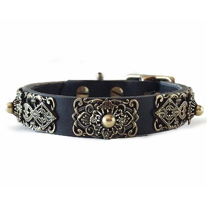 Leather Small Dog Collar | Queenie