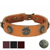 Leather Designer Dog Collars | Bees