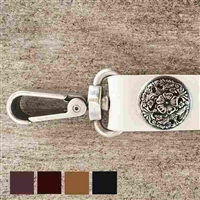 Designer Leather Dog Leash | Gretta
