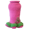 Girly Girl Dog Sweater Dress
