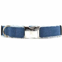 Blue Jean Baby Denim Dog Collar