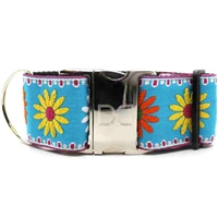 Crazy Daisy Large Dog Collar