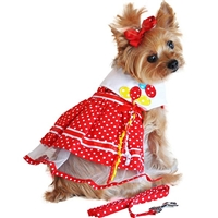 It's My Party Small Dog Harness Dress