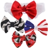 Formal Satin Dog Bow Tie Collars