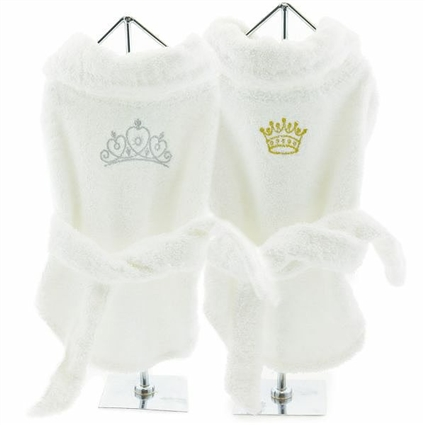Turkish Terry Bathrobes for Dogs | His & Hers