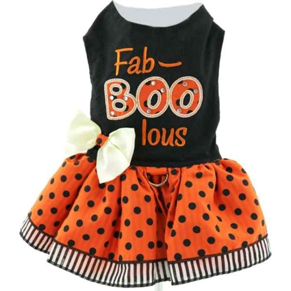 Fab-BOO-lous Halloween Dog Dress