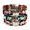 French Ribbon Dog Cat Collar