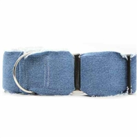 Blue Jean Baby Denim Martingale Collars