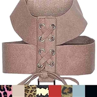 Parisian Corset Dog Harness | Ultrasuede