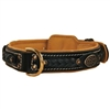 Deans Legend Braided Leather Dog Collars