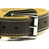 Italian Tailor Leather Dog Designer Dog Collar