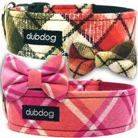 Dog Collar | Martingale Collar | Flannel Pajamas Plaid
