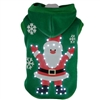 LED Lighted Santa Dog Hoodie