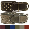 Studded Leather Large Dog Collars