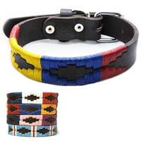 Aztec Western Leather Dog Collars