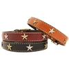 Old Glory Leather Dog Collar