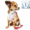 Fashion Bowtie Dog Harness