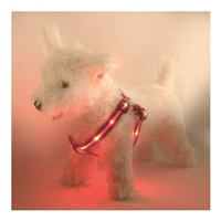 L.E.D. Lighted Dog Harness - HARN-00012